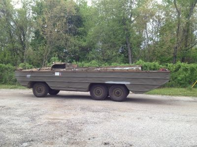 1945 GMC DUKW Amphibious truck