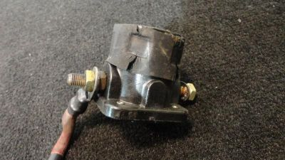 Find USED STARTER SOLENOID ASSY #0395419, JOHNSON EVINRUDE 1991 115hp OUTBOARD MOTOR motorcycle in Gulfport, Mississippi, US, for US $19.99