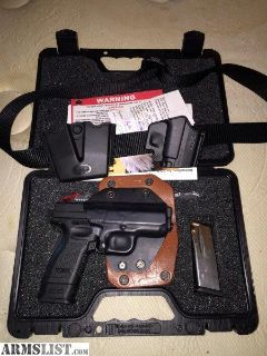 For Sale: XD 45 with extras $400 today only