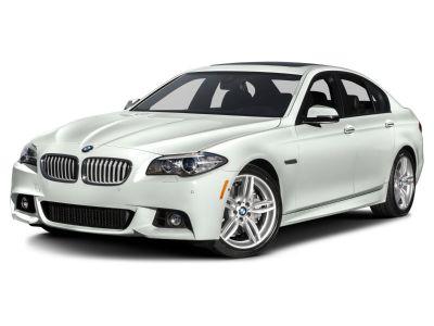 2016 BMW 5-Series 550i xDrive (White)