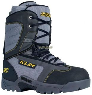 Purchase 2017 Klim Radium GTX Boot - Black motorcycle in Sauk Centre, Minnesota, United States, for US $299.99