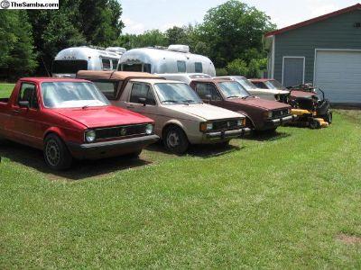"80""S Builder Rabbit Diesel Pickups & CarS"