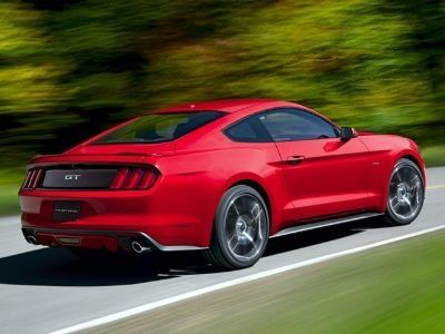 2016 Ford Mustang EcoBoost (Guard Metallic)