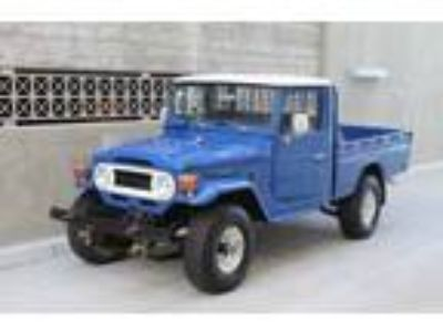 1977 Toyota Land Cruiser Air Conditioning/4-Wheel