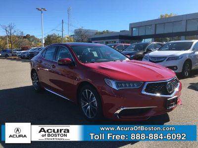 2018 Acura TLX 3.5L V6 (San Marino Red)