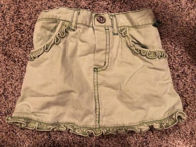 Jean Skirt. Nice Condition. Has Attached Shorts. Size 18 Months