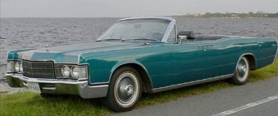 1966 Lincoln Continental 4-Door Convertible Styled as a 1969