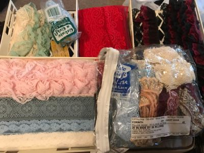 Yards of Vintage Lace