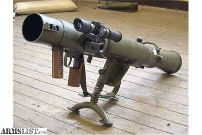 Want To Buy: Deactivated Carl Gustav Recoilless Rifle
