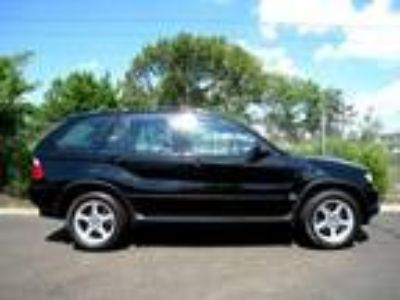 2001 bmw x5 black on black