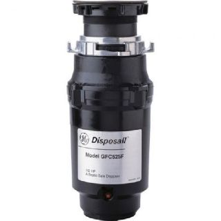 GE Continuous Feed Disposer -1/2 HP Power Cord Wired