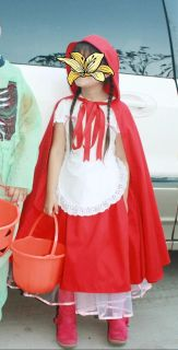 Red riding hood costume child size 7-8