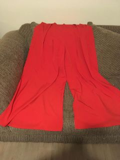 Gorgeous Extremely Wide Leg Palazzo Pants Sz L Swap Only