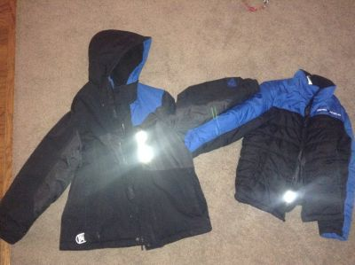 Boys Heavy Winter Coat Size S