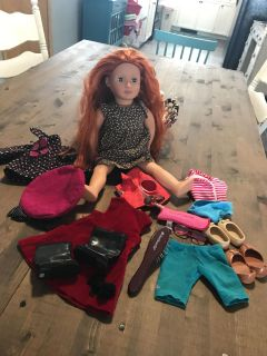 Our Generation & American Girl doll lot