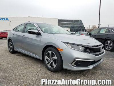 2019 Honda CIVIC SEDAN LX (Lunar Silver Metallic)