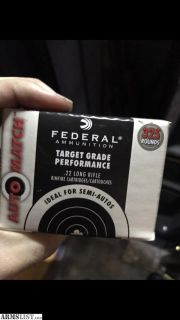 For Sale: .22 LR ammo