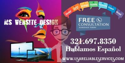 Web Design - Mobile Friendly - Social Media - SEO - Hablamos Espanol.