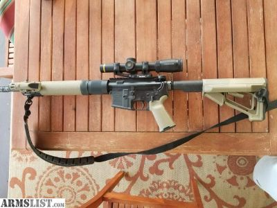For Sale: Anderson Custom Build AR300 Blk