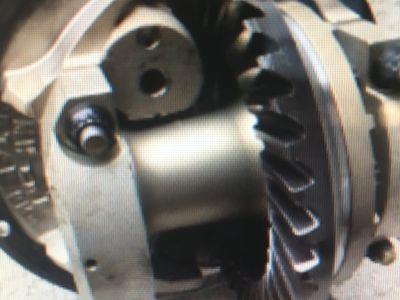mw 9 inch through bolt center section