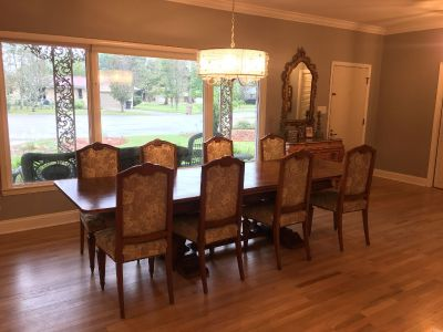 Antique Spanish Dining Table and Chairs