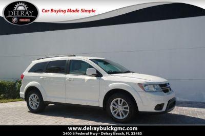 2013 Dodge Journey SXT (white)