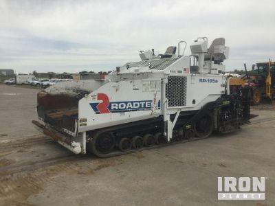 2014 (unverified) Roadtec RP195E Asphalt Paver
