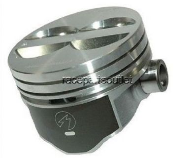 "Find Speed Pro Flat Top Hypereutectic SB Chevy 350 Pistons 5.7"" Rod .60 Bore motorcycle in Des Moines, Iowa, United States, for US $92.70"