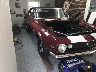 67 Camaro, SALE PENDING on CAR and CART