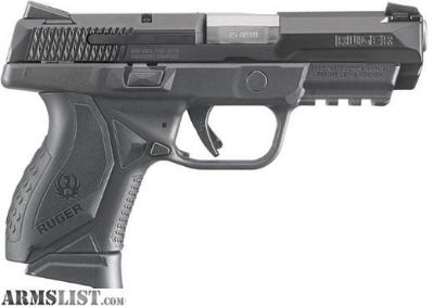 """For Sale: NEW RUGER AMERICAN COMPACT 45ACP BLK 3.8"""" 10+1"""