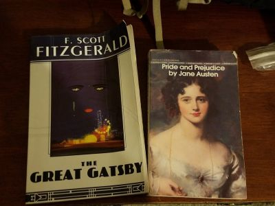3 Classics Pride Prejudice Gatsby Wuthering heights Paperback Ready Romance Roaring