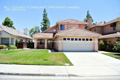 4 BEDROOM 3 BATH ATTACHED 2 CAR GARAGE, RIGHT ON MENIFEE LAKE HOME FOR RENT