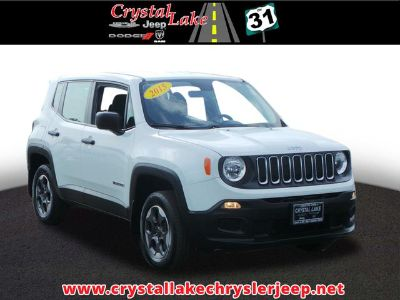 2015 Jeep Renegade Sport (White)