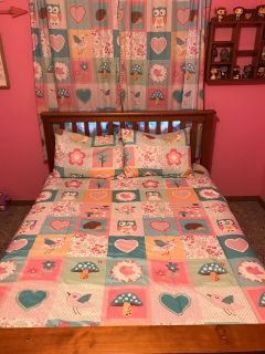 Full size girl bedding set