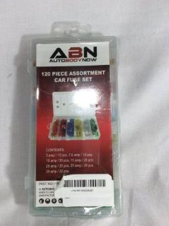 Purchase ABN 120 Piece Car Truck Fuse Assortment 5,7.5,10,15,20,25,30 AMP 9005 motorcycle in East Earl, Pennsylvania, United States, for US $6.99