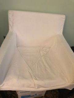 IKEA chair with washable cover