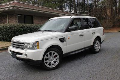 2008 Land Rover Range Rover Sport HSE (White)