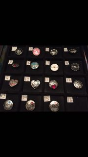 NEW, 18mm Snaps For Interchangeable Jewelry, FAMILY, Fits Gingersnaps Brand