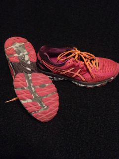 Womens ASIC running shoes 10