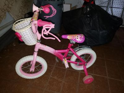 Lalaloopsy bike ages 5 & under
