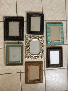 Lot of 5x7 picture frames
