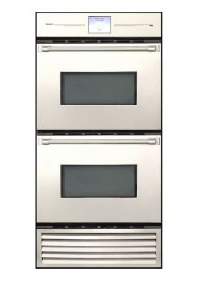 "30"" Refrigerator and Double Convection Wall Oven Combination Unit"