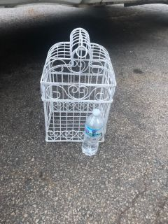 FAKE METAL BIRD CAGE FOR WHATEVER