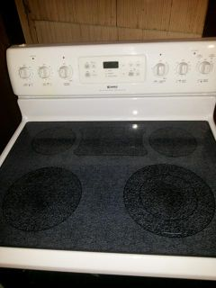 $250, Electric Kenmore Warm and Ready Range with Warming Drawer $250