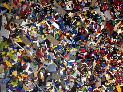 Legos Bulk Random Assorted Parts, Pieces - BY THE POUND