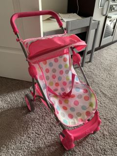 Baby Doll Stroller Honestly CuteGood Condition no stains!!