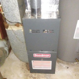 Natural Gas Furnace by Goodman-Nearly New!!!