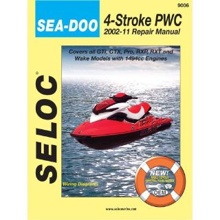 Purchase Seloc Service Manual Sea-Doo Bombardier 4-Stroke Engines - 2002-2010 -9006 motorcycle in Phoenix, Arizona, United States, for US $37.81