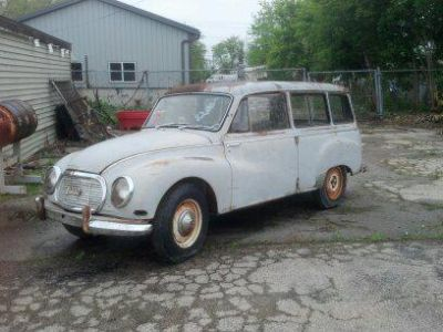 Find 1961 Auto Union DKW 1000 wagon motorcycle in Madison, Wisconsin, US, for US $1.00