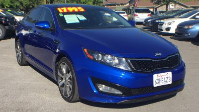 2013 Kia Optima SX Turbo (Corsa Blue Pearl)